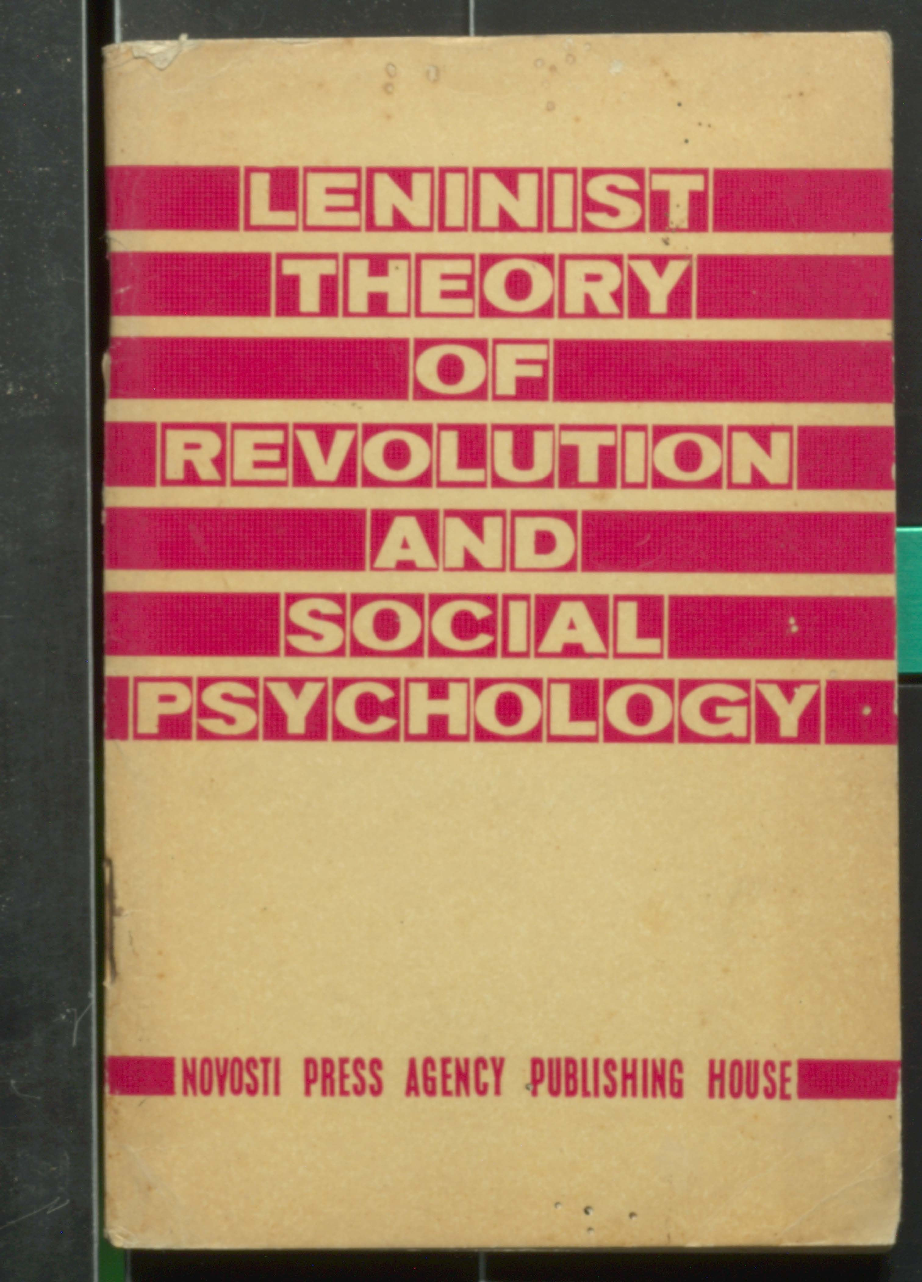 Leninist theory of Revolution and social psychology
