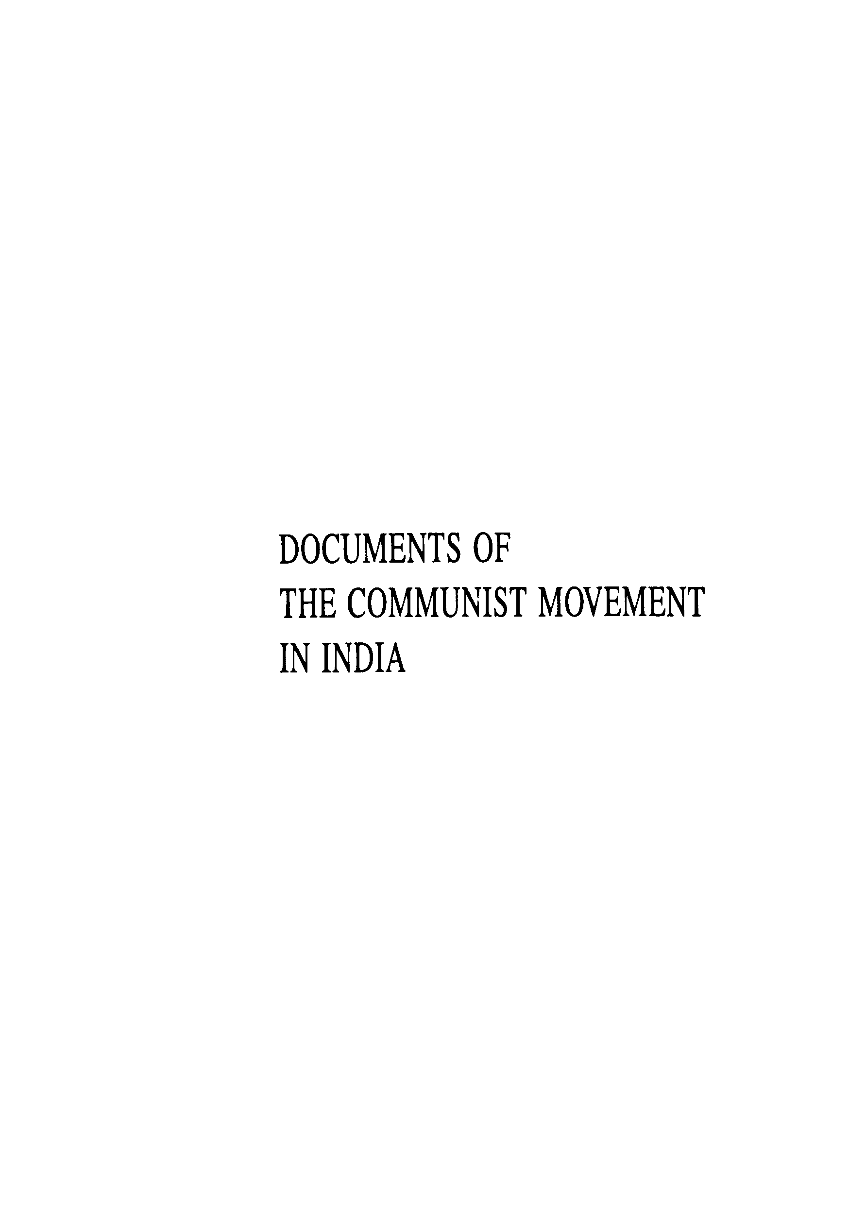 Document Of The Communist Movement In India Vol - 21 (1984 - 1986)