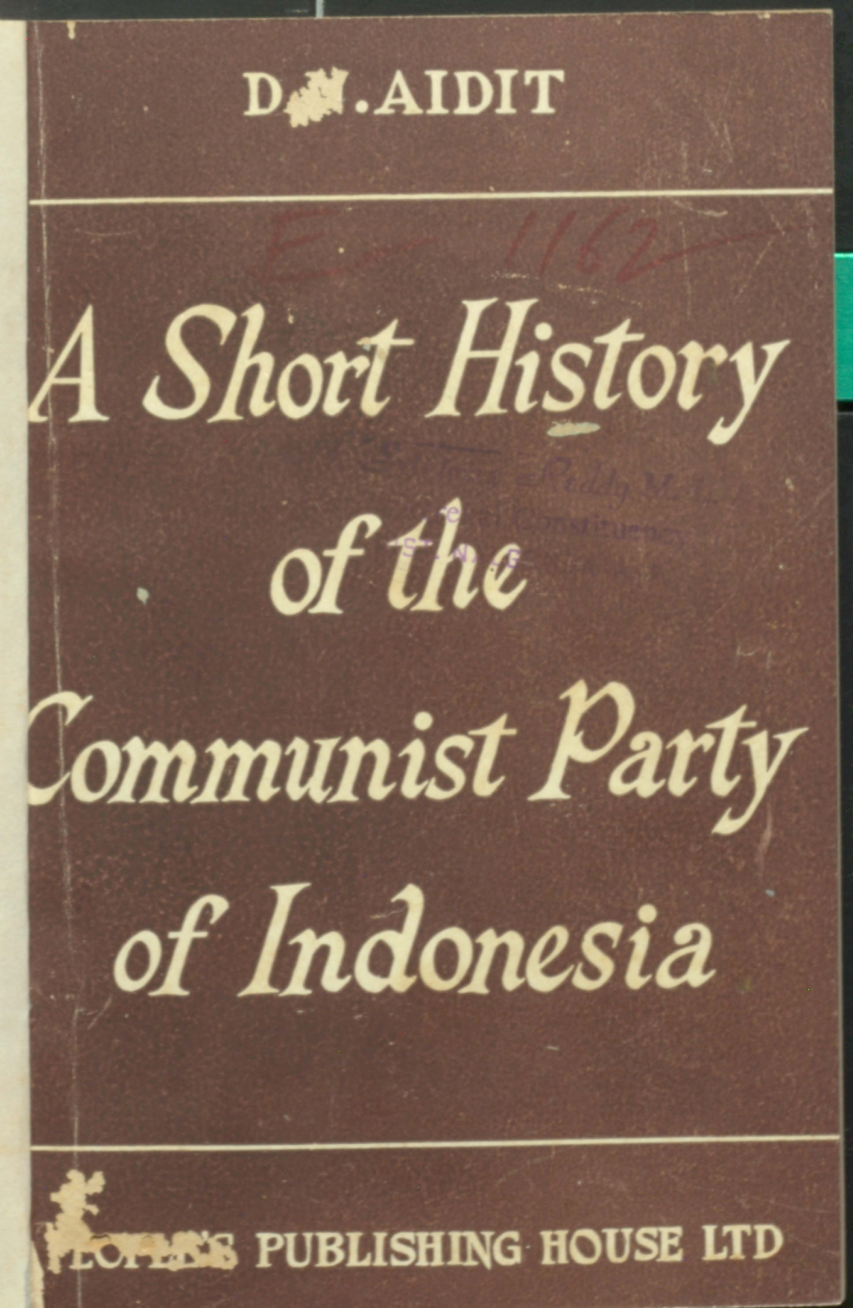 A short history of the communist party of Indonesia