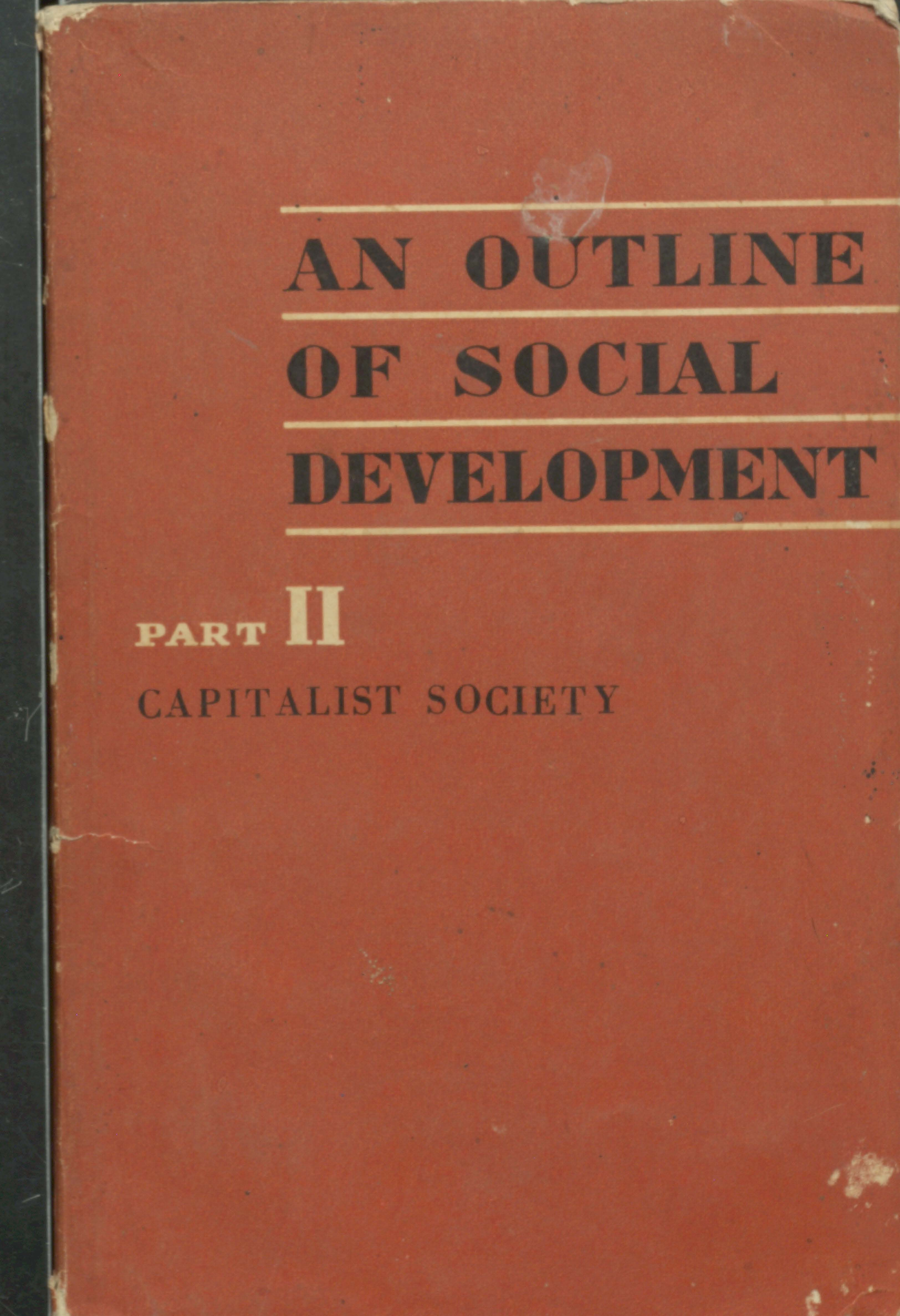 An outline of social development Part-2
