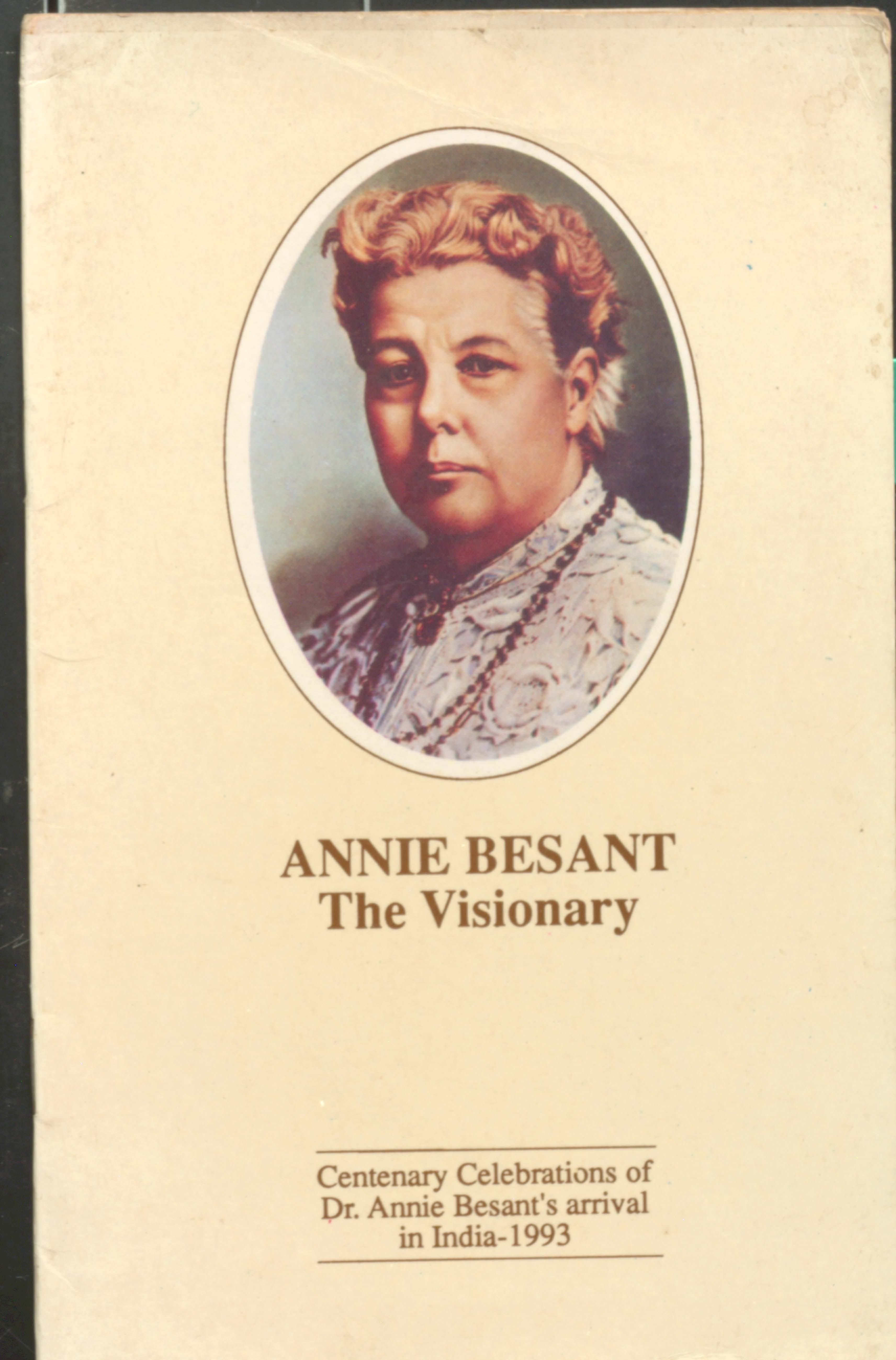 Annie  besant the visionary